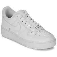 Low top trainers Nike AIR FORCE 1 07 LEATHER W