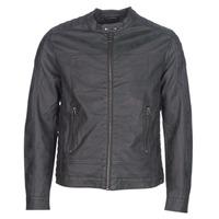 material Men Leather jackets / Imitation leather Esprit VENI Black