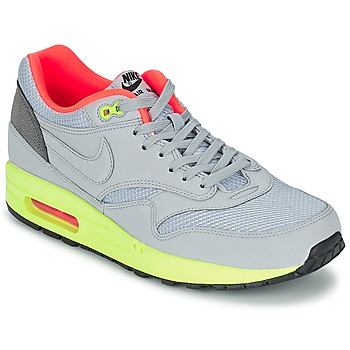 Shoes Men Low top trainers Nike AIR MAX 1 FB Grey / Green / CORAL