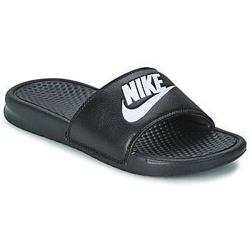 Shoes Men Tap-dancing Nike BENASSI JUST DO IT Black