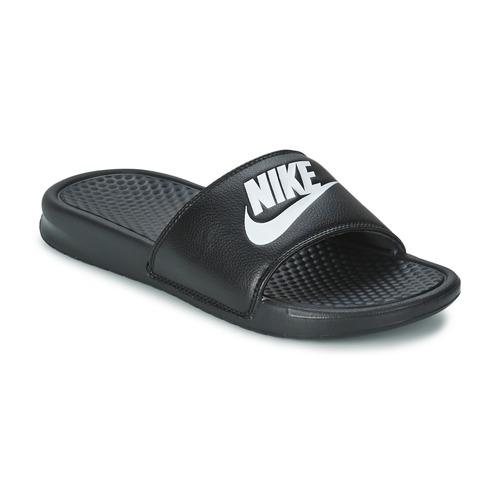 Shoes Men Tap-dancing Nike BENASSI JUST DO IT Black