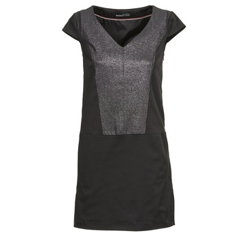 material Women Short Dresses La City CORNELIA Black