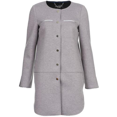 material Women coats La City FLORA Grey