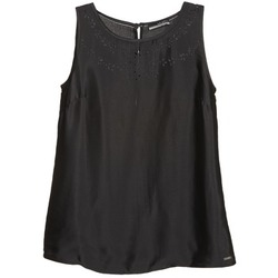 material Women Tops / Sleeveless T-shirts La City LUCRETIA Black