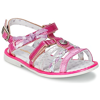 Shoes Girl Sandals Catimini CHOUETTE Fuschia
