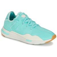 Shoes Women Low top trainers Le Coq Sportif SOLAS W SUMMER FLAVOR Blue