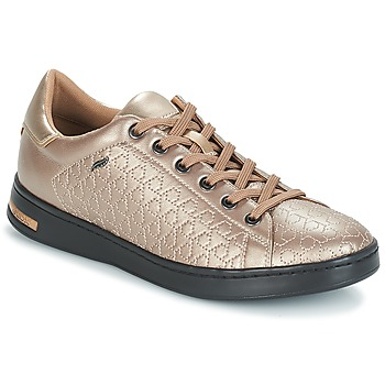 Shoes Women Low top trainers Geox D JAYSEN Beige