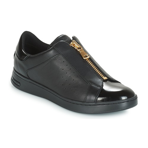 f5d39cb0582 Geox D JAYSEN Black - Fast delivery   Spartoo Europe ! - Shoes Low ...