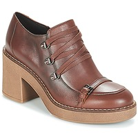 Shoes Women Low boots Geox D ADRYA MID Brown
