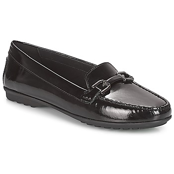 Shoes Women Loafers Geox D ELIDIA Black
