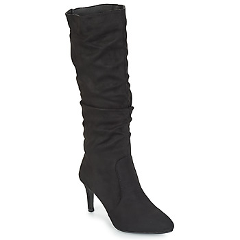 Shoes Women Boots Spot on BRUXEA Black