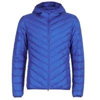 material Men Duffel coats Emporio Armani EA7 TRAIN CORE SHIELD 8NPB09 Blue / Electric