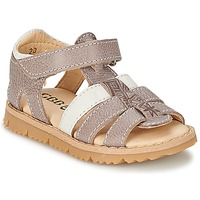 Shoes Boy Sandals GBB IGNAM Grey