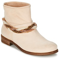 Shoes Women Mid boots Tosca Blu TETHYS Beige