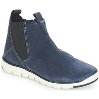 Shoes Boy Mid boots Geox J XUNDAY BOY Marine