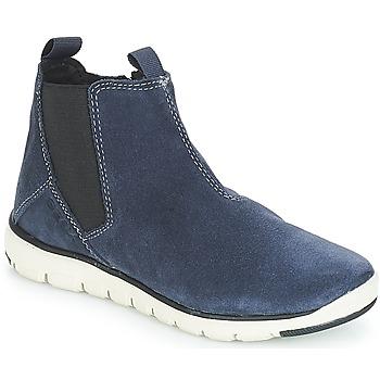 Shoes Boy Mid boots Geox J XUNDAY BOY Marine