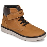 Shoes Boy High top trainers Geox J RIDDOCK BOY WPF Yellow
