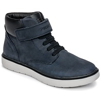 Shoes Boy High top trainers Geox J RIDDOCK BOY WPF Marine
