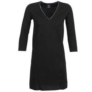 material Women Short Dresses Majestic BRUNEHILDE Black