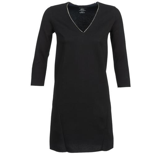material Women Short Dresses Majestic BRUNEHILDE Black