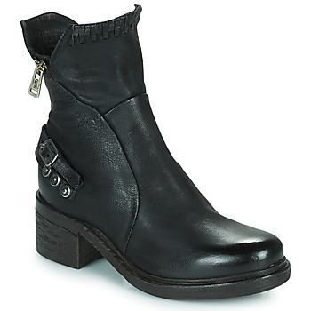 Shoes Women Mid boots Airstep / A.S.98 NOVA 17 Black