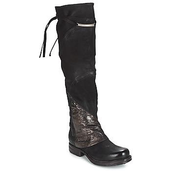 Shoes Women High boots Airstep / A.S.98 SAINT EC PATCH Black