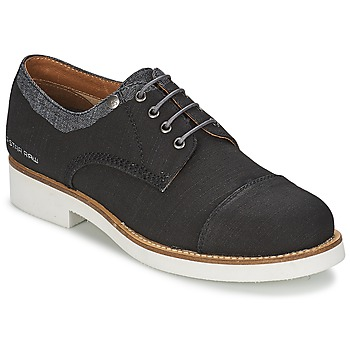 Shoes Women Derby shoes G-Star Raw ETON Black