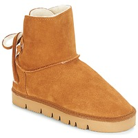 Shoes Women Mid boots Casual Attitude JICOTINA Camel