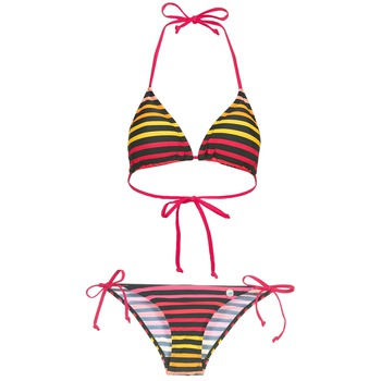 material Women Bikini Little Marcel BASTINE Black / Multicoloured