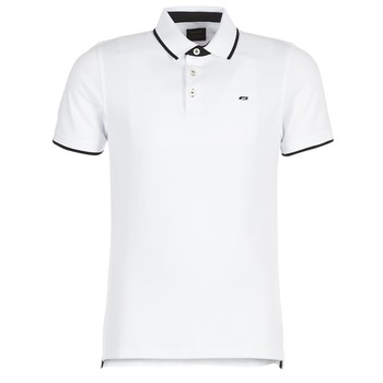 material Men short-sleeved polo shirts Jack & Jones JJEPAULOS White