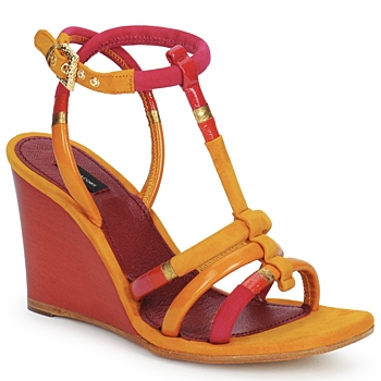 Shoes Women Sandals Marc Jacobs MJ16439 Yellow / Pink