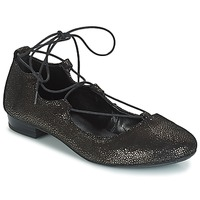 Shoes Women Ballerinas André COLOMBINE Gold