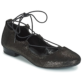 Shoes Women Ballerinas André COLOMBINE Gold