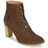 Shoes Women Mid boots André CLAUDIA Taupe