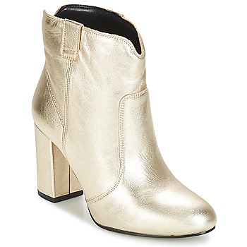Shoes Women Ankle boots André POLICIA Gold