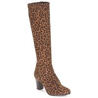 Shoes Women Boots André GANTELET 4 Leopard