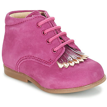 Shoes Girl Mid boots André LILY Fuschia