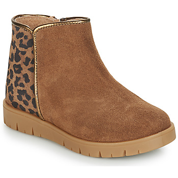 Shoes Girl Mid boots André SAVANNAH Camel