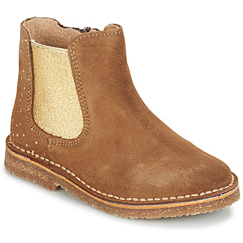 Shoes Girl Mid boots André CANNELLE Camel