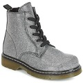 Shoes Girl Mid boots André MARLA Silver