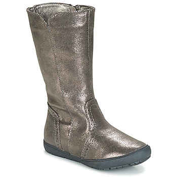 Shoes Girl Boots André SCINTILLANTE Silver