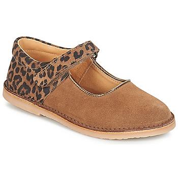 Shoes Girl Ballerinas André AURORA Camel