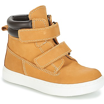 Shoes Boy Mid boots André ALESSIO Camel