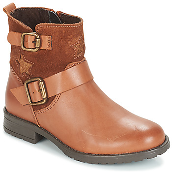 Shoes Girl Mid boots André COUNTRY GIRL Camel