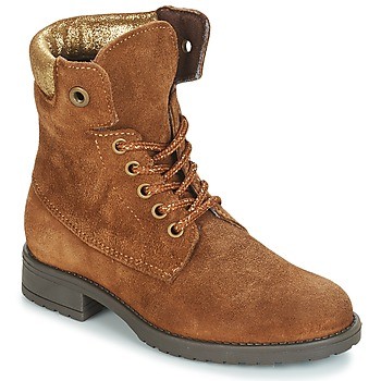 Shoes Girl Mid boots André KATE Camel