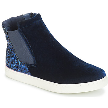 Shoes Girl Mid boots André SISSI 2 Marine