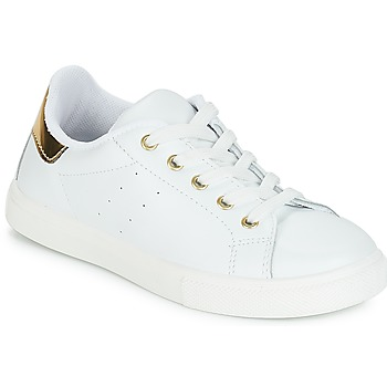 Shoes Girl Low top trainers André TAMARA White