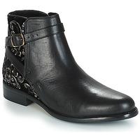 Shoes Women Mid boots André CAVIAR P Black