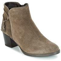 Shoes Women Ankle boots André MISTINGUETTE Kaki