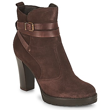 Shoes Women Ankle boots André EXTRA Brown